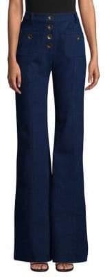 Alexis Ferris Wide Leg High-Waist Jeans
