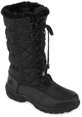 totes Womens Tracey Iii Insulated Winter Boots Lace-up