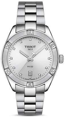 Tissot PR100 Diamond Watch, 36mm