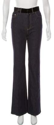 Adeam Flared High-Rise Jeans w/ Tags