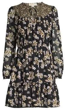 MICHAEL Michael Kors Fleur Bib Dress