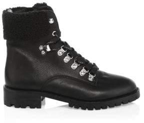Rebecca Minkoff Jaylin Leather Hiking Boots