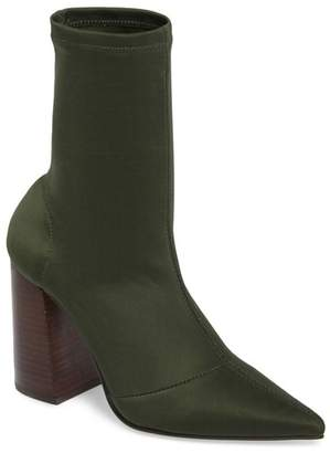 Steve Madden Lombard Pointed Toe Sock Bootie