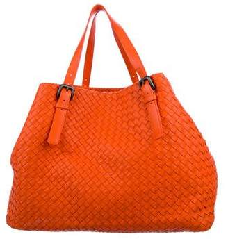 Bottega Veneta Cesta Intrecciato Leather Tote