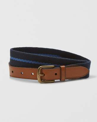 Abercrombie & Fitch Striped Surcingle Belt
