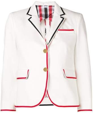 Thom Browne cropped sleeve blazer