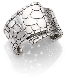 John Hardy Kali Sterling Silver Overlap Cuff Bracelet