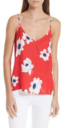 Equipment Layla Floral Print Silk Camisole