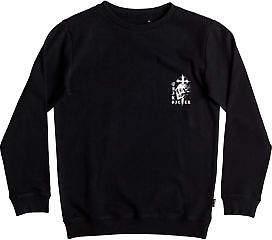Quiksilver NEW QUIKSILVERTM Boys 8-16 Skull Cross Crew Neck Jumper Boys Teens Sweatshirt