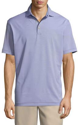 Peter Millar Men's Jubilee Stripe Stretch-Jersey Polo Shirt