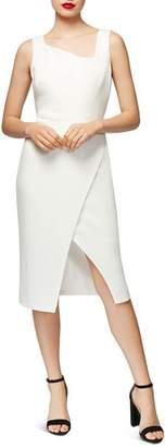 Betsey Johnson Asymmetric Crossover Dress