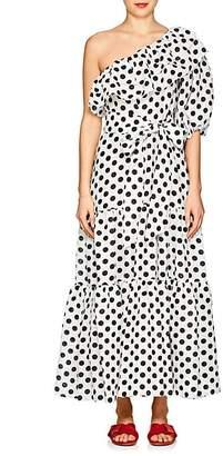Lisa Marie Fernandez Women's Arden Dot-Print Maxi Dress