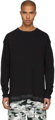 Unravel Black Waffle Tour Skate Pullover
