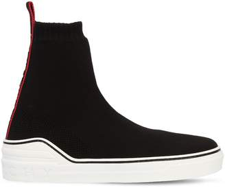 Givenchy George V Knit Sock Ankle Boot Sneakers