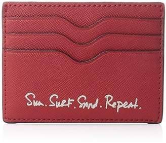Rebecca Minkoff Women's Bailey Card Case-Sun. Surf. Sand. Repeat