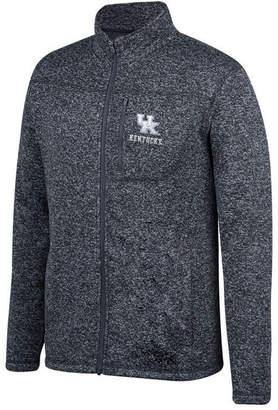 Top of the World Men's Kentucky Wildcats Pioneer Full-Zip Marled Sweater