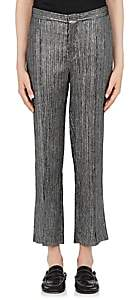 Isabel Marant Women's Dansley Metallic Pants - Silver
