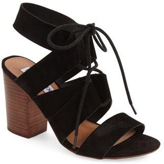 Women's Steve Madden 'Emalena' Ghillie Sandal $99.95 thestylecure.com
