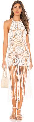 Majorelle Amy Crochet Dress