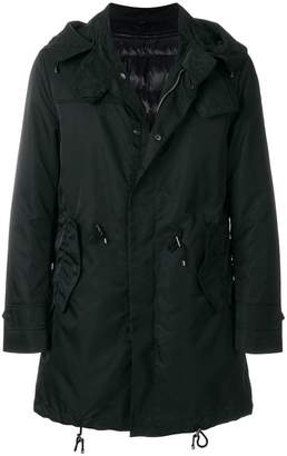 Sealup zipped parka coat