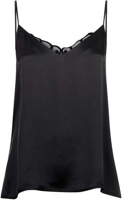 Hanro Lace Back Silk Camisole