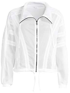Alo Yoga Women's Semi-Sheer Stitch Jacket
