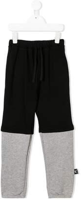 Nununu contrasting panels trousers