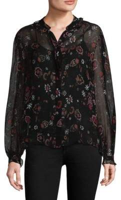 Paige Alexi V-Neck Blouse