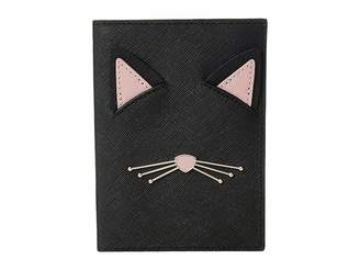 Kate Spade Cat's Meow Cat Passport Holder