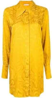 Stine Goya jacquard tunic shirt