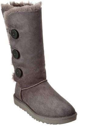UGG Women's Bailey Button Triplet Ii Water-Resistant Twinface Sheepskin Boot