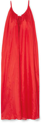 Kalita - Mercury Silk-habotai Maxi Dress - Red
