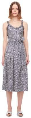 Rebecca Taylor Lauren Floral Silk Jacquard Skirt
