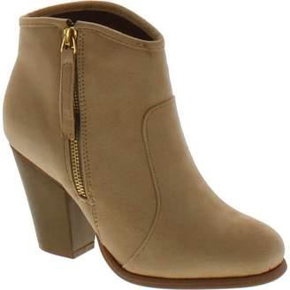 Liliana Romane-1 Women's Chunky Heel Riding Ankle Booties