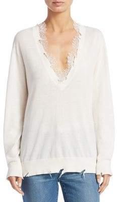 IRO Pao Lace Sweater