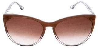 Thierry Lasry Gradient Dramatic Cat-Eye Sunglasses