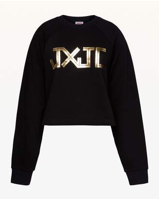 Juicy Couture JXJC Gold Foil Logo Pullover
