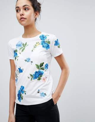 Sportmax CODE Code Floral Embroidered T-Shirt