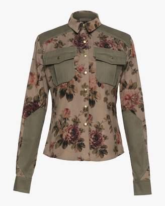 Lena Hoschek officer corduroy shirt