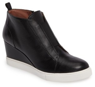 Women's Linea Paolo 'Felicia' Wedge Bootie $119.95 thestylecure.com