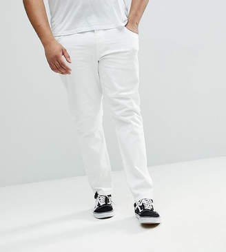 Asos DESIGN Plus slim jeans in white