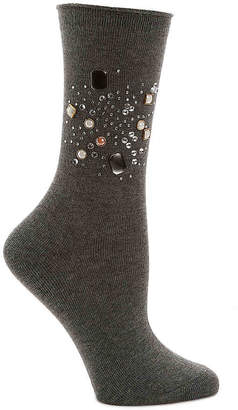 Me Moi MeMoi Jewel Crew Socks - Women's