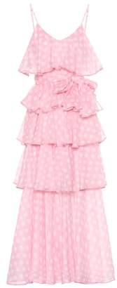 Lisa Marie Fernandez Imaan polka-dot cotton maxi dress