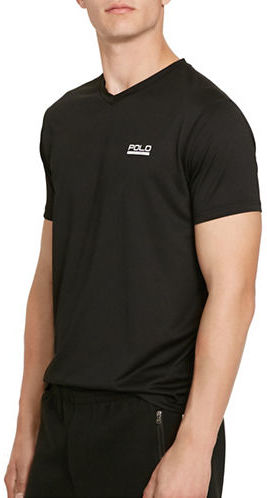 Polo Sport Micro-Dot V-Neck Jersey T-Shirt