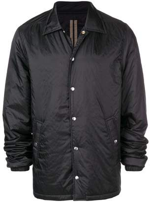 Rick Owens snap-button lightweight jacket
