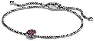 David Yurman Châtelaine Petite Pave Station Bracelet