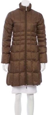 MonclerMoncler Knee-Length Puffer Coat