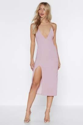 Nasty Gal High Esteem Midi Dress
