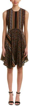 A.L.C. Hartmann Silk A-Line Dress