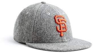 Todd Snyder + New Era Exclusive New Era SF Giants Hat In Abraham Moon  Herringbone Lambswool 3364081ef043